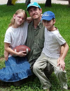 Ian and kids